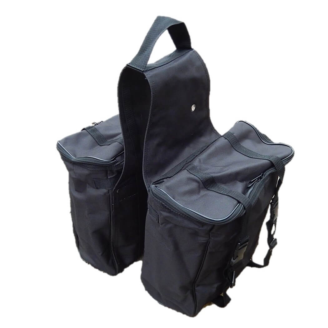 Large Black Western Horse Saddle Bags Insulated Saddles N Such Smc
